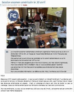 Page web URC annonce session Barr